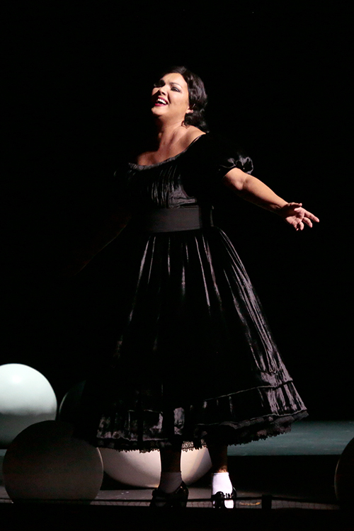 Анна Нетребко в опере «Манон Леско».